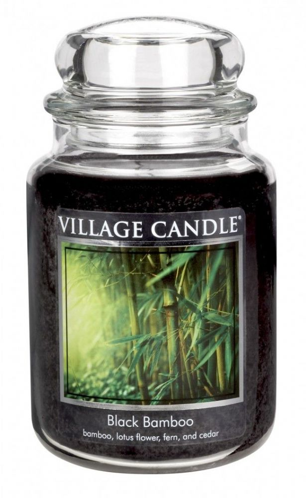 Village Candle Black Bamboo (Select Size)